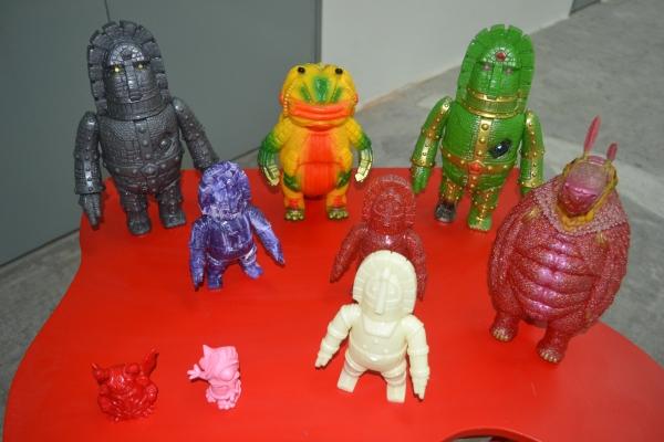 Monstock art toys in Malaysia