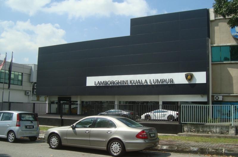 Visit At The Lamborghini Kuala Lumpur Showroom Fuman Art