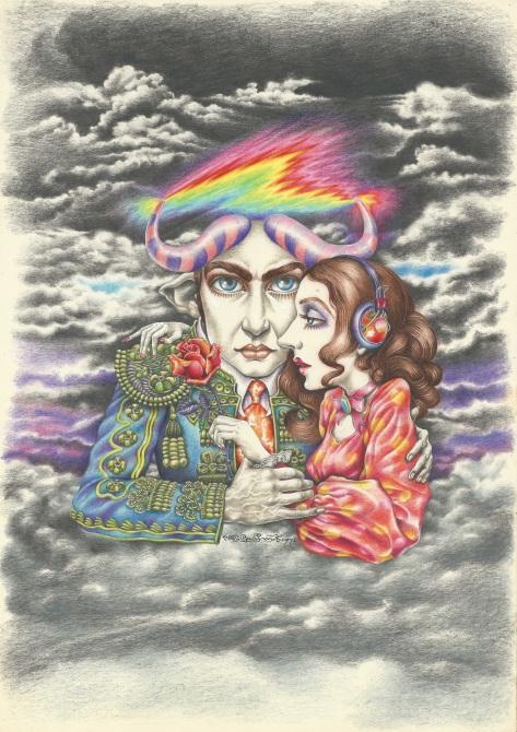 Aoi Fujimoto 07 - mixed media - 1970's - The toreador