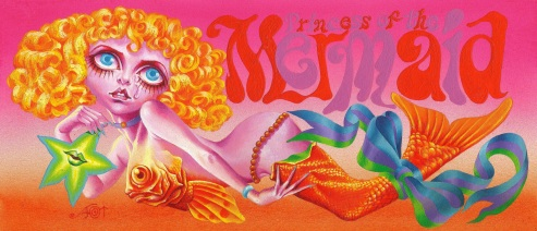 Aoi Fujimoto 14 - mixed media - 1970 's - Princess of the mermaid