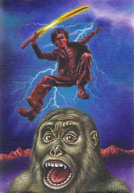 Aoi Fujimoto 16 - painting - 1980 's - The Gorilla