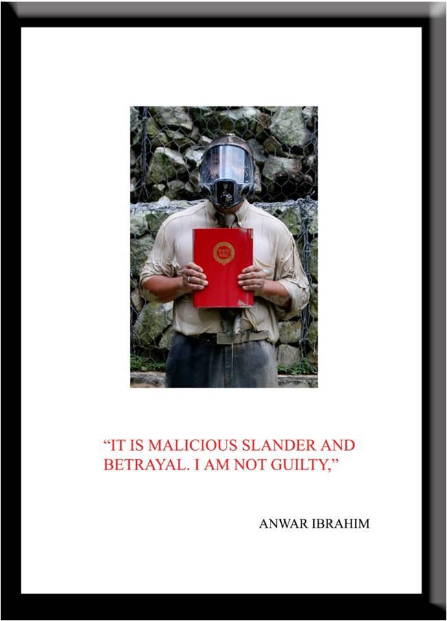 Azizan Paiman - monoprint - 2007 - Cleansing Ritual - Anwar Ibrahim - lg