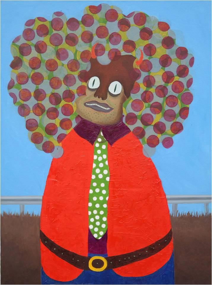 Azizan Paiman - painting - 2012 - oil canvas - AB40 - Bangsawan - lg