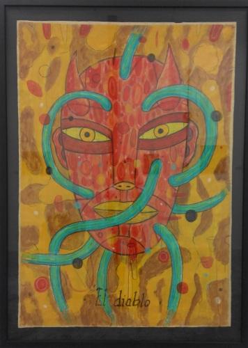 Diego Perrotta - Acrylic paint on paper - 2010 - El Diablo