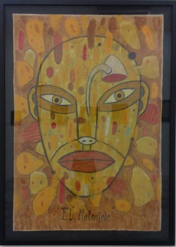 Diego Perrotta - Acrylic paint on paper - 2010 - El Matasiete