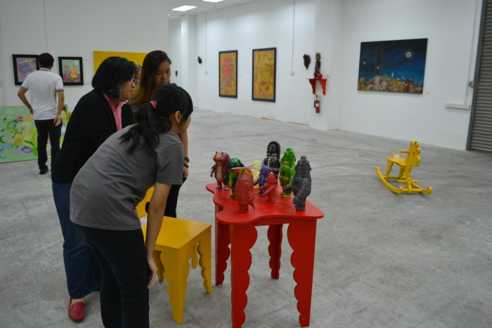 Fuman art space - IACT tour 14