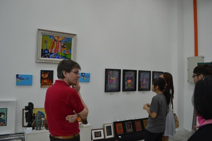 Fuman art space - IACT tour 15