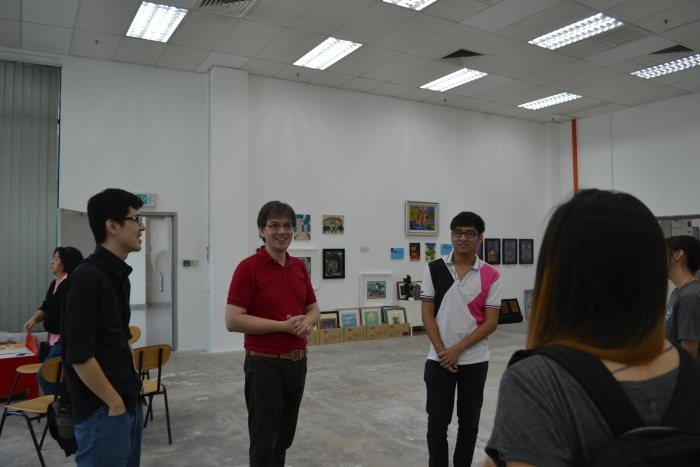 Fuman art space - IACT tour 16