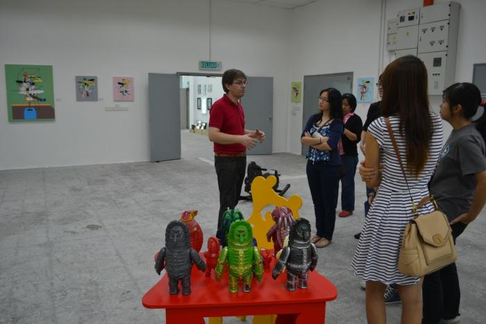 Fuman art space - IACT tour 19