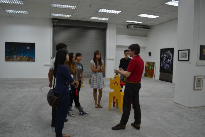 Fuman art space - IACT tour 20