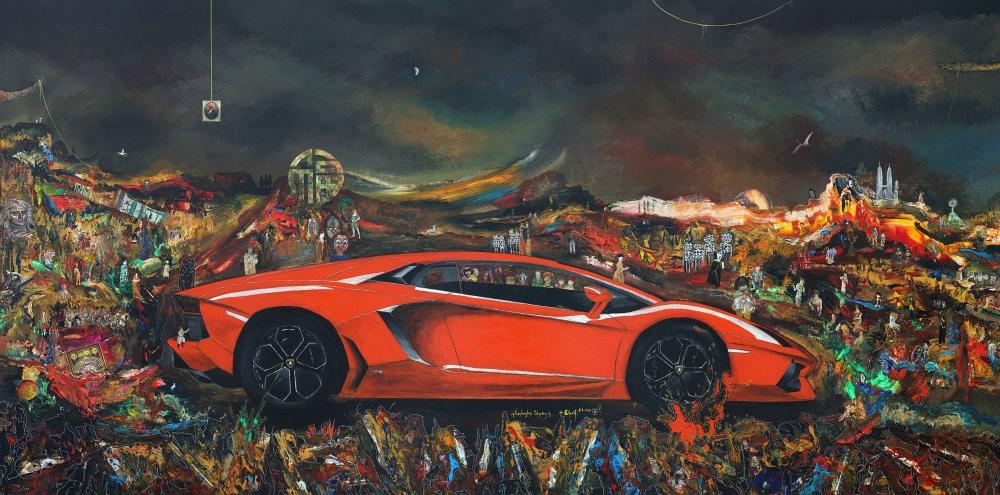 Gustavo Charif - Lamborghini Odyssey