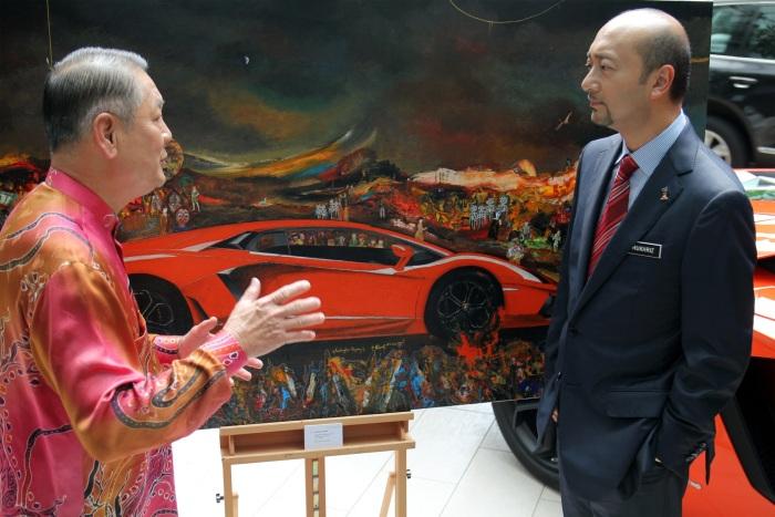 Gustavo Charif - Lamborghini project - October 2012 - Kuala Lumpur 13