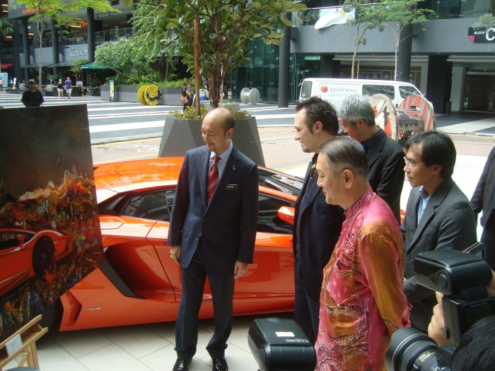 Gustavo Charif - Lamborghini project - October 2012 - Kuala Lumpur  30