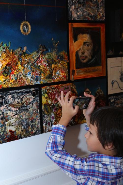 Gustavo Charif exhibition Maison Francaise 3