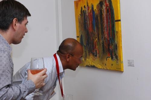 Gustavo Charif exhibition Maison Francaise 5