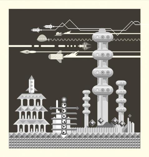 Takuya Kuriyama - 2009 - Print - mono 01