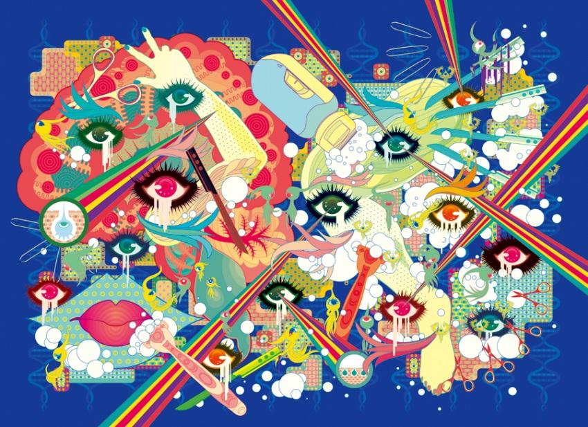 Takuya Kuriyama - Eye dots