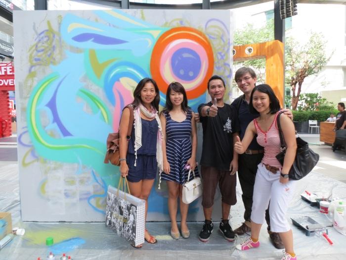 Whooop - Street art - CAFFA 2013 -Publika 4