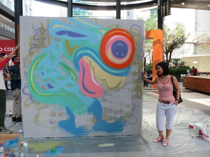 Whooop - Street art - CAFFA 2013 -Publika 5