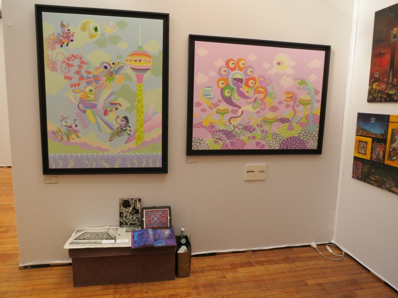 Cutlog paris 2013 - Fuman art booth
