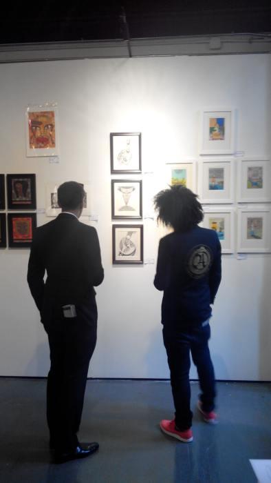 Fuman Art - Cutlog new york 2014 New yorkers admiring