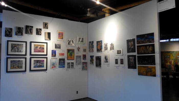 Fuman Art - Cutlog new york 2014 booth