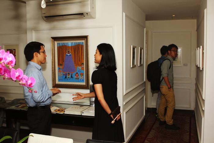 Fuman Art - Exhibition Azizan Paiman - Opening night 4