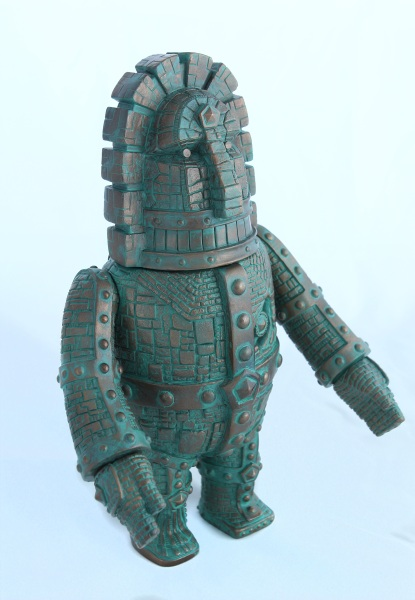 Giant Moai robo - Bronze Idol