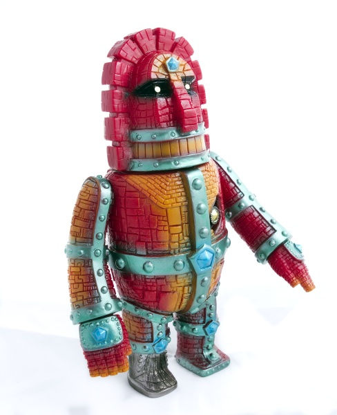 Moai robo - Hawaiian Red 1