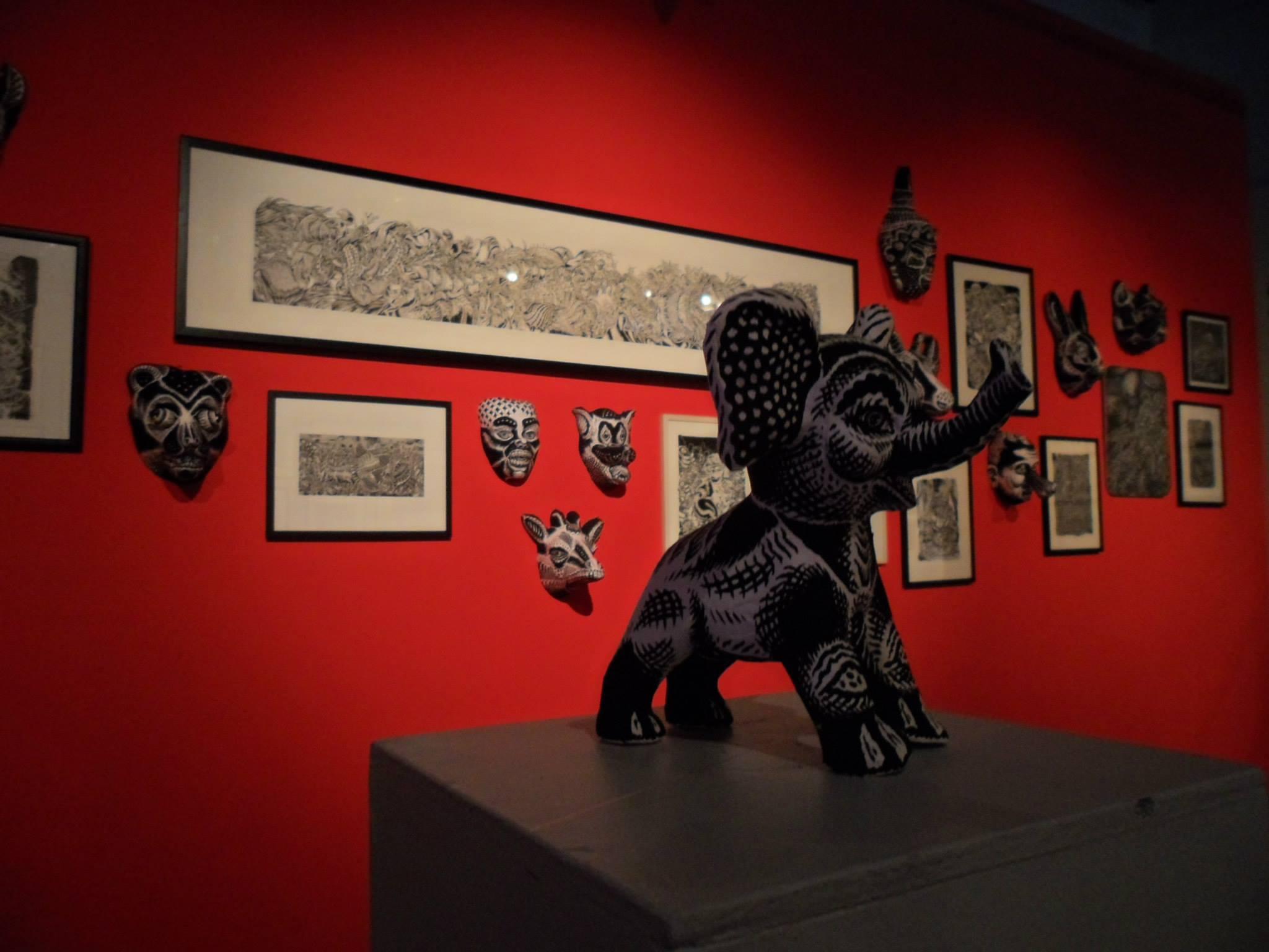 Stephane Blanquet - Evreux  exhibition 2