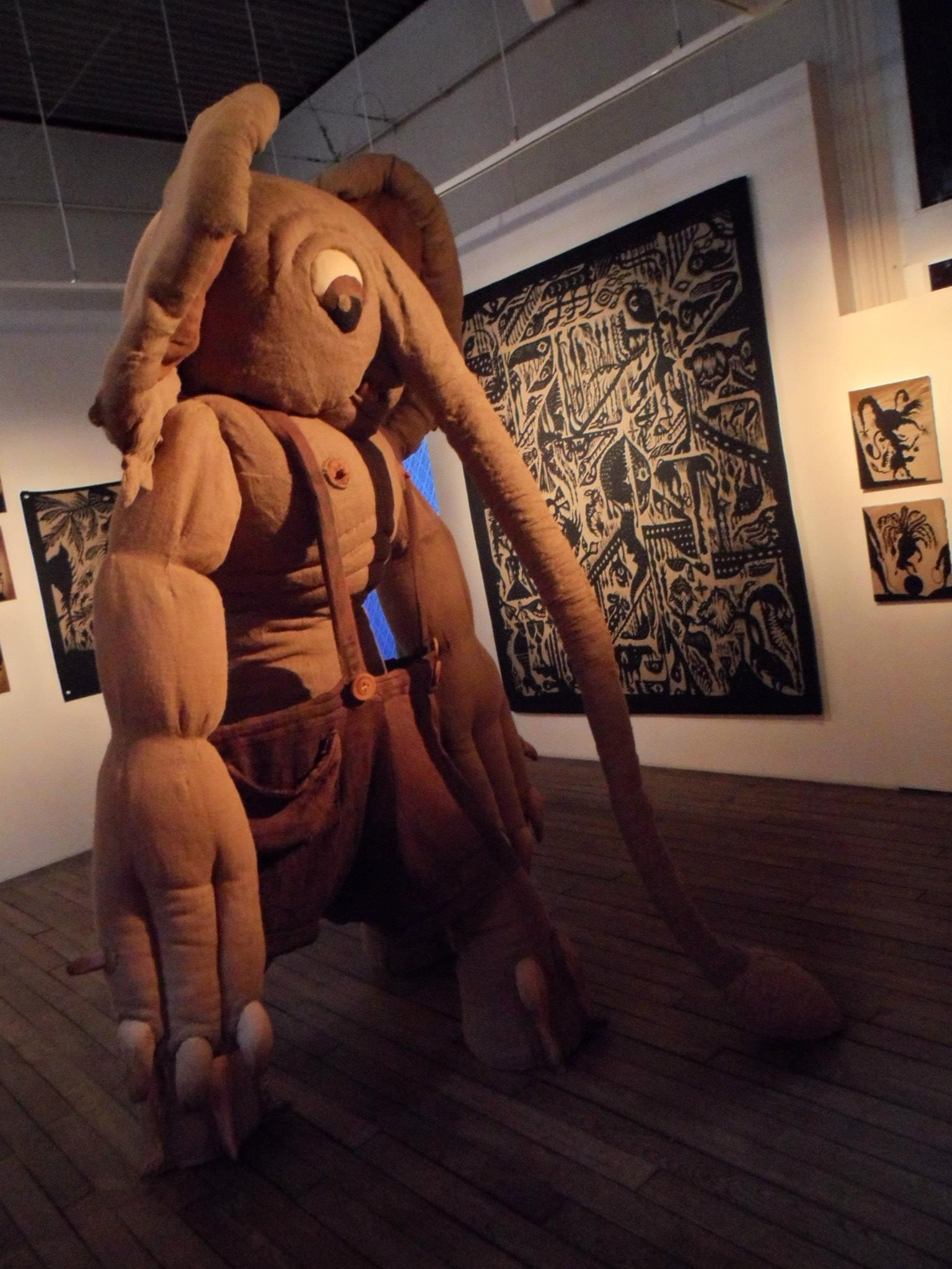 Stephane Blanquet - Evreux exhibition 4
