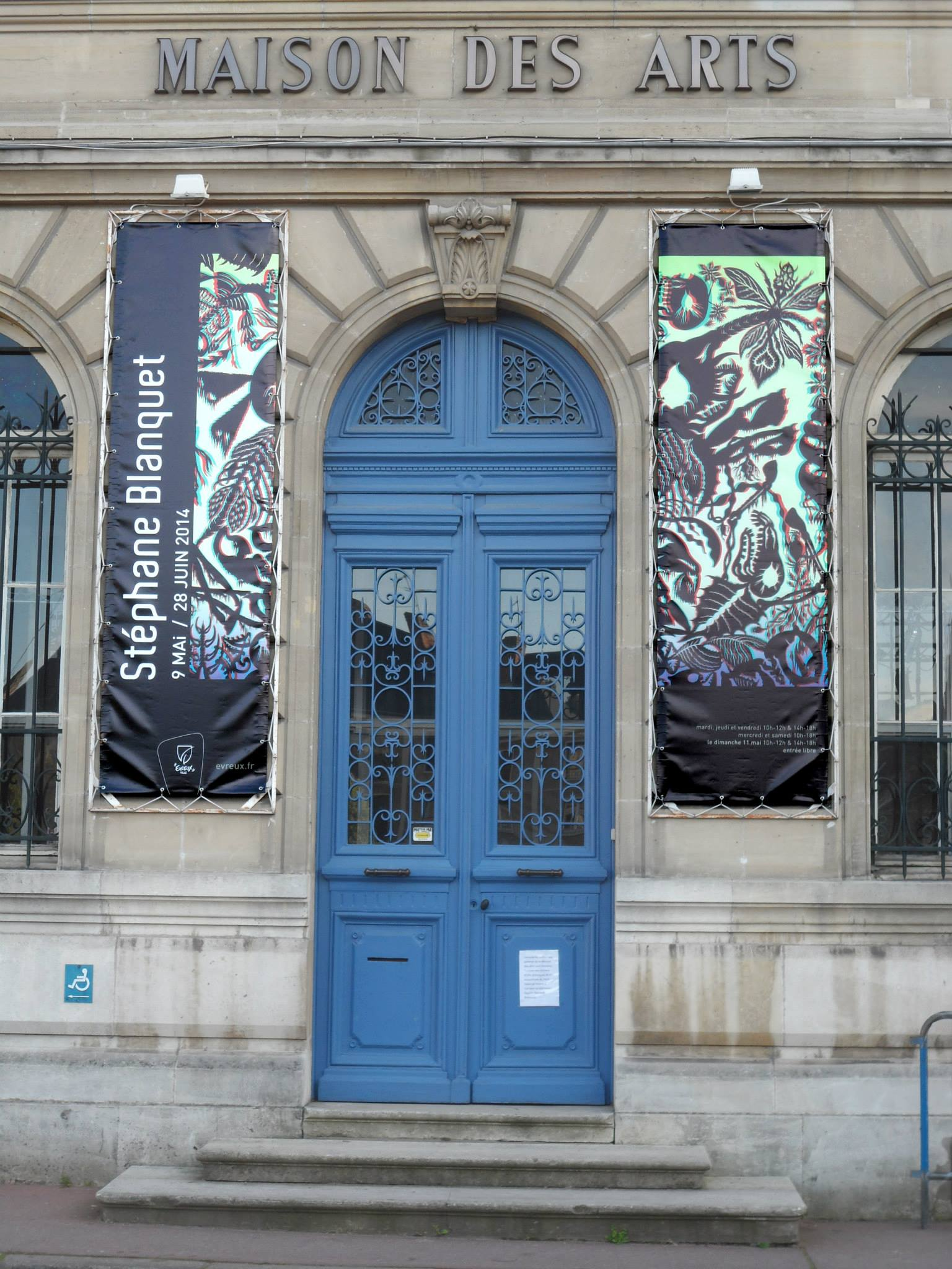 Stephane Blanquet - Evreux exhibition