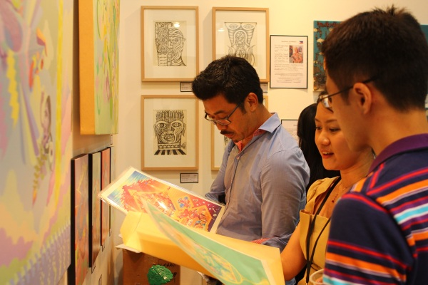 art expo malaysia - fuman art booth 2013 a