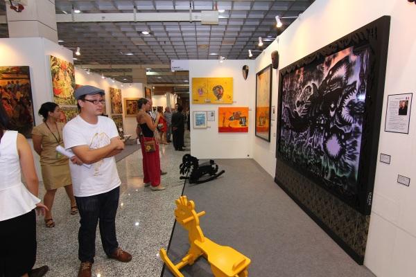 art expo malaysia - fuman art booth 2013 b