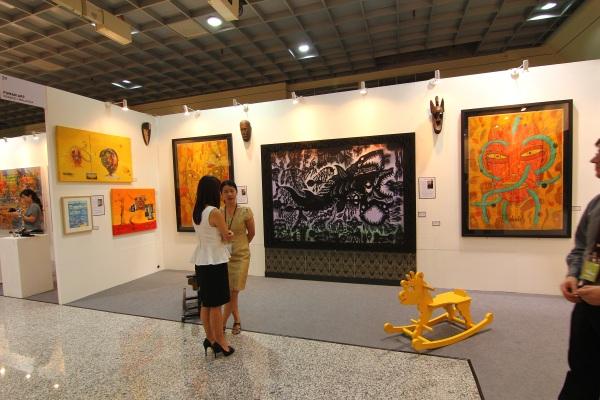 art expo malaysia - fuman art booth 2013 c