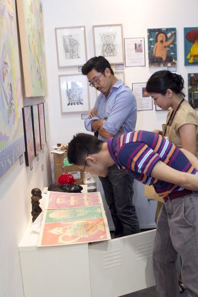 art expo malaysia - fuman art booth 2013 g
