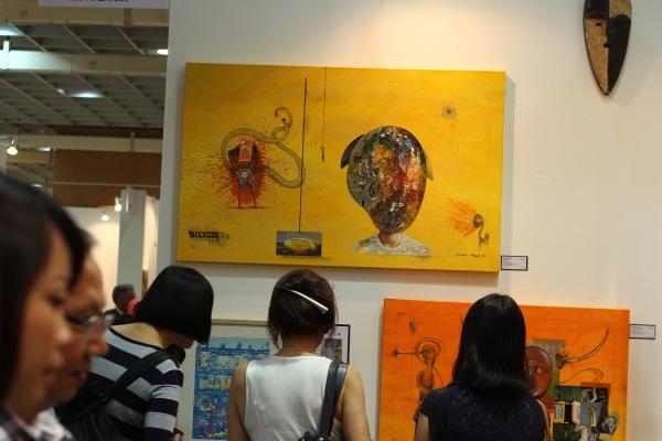 art expo malaysia - fuman art booth 2013 i
