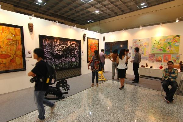 art expo malaysia - fuman art booth 2013