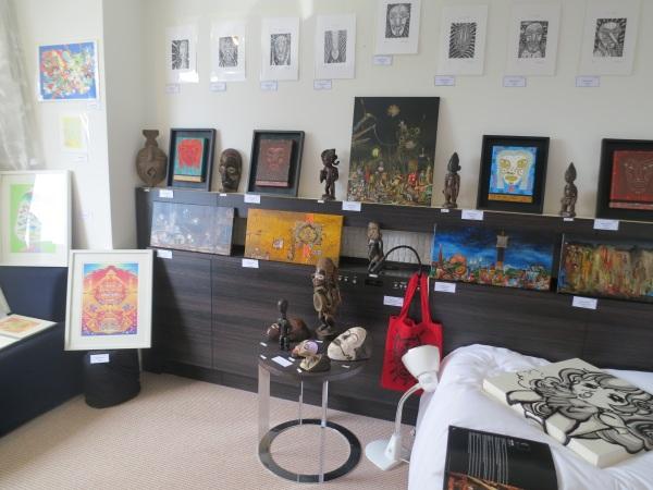 art osaka 2013 - fuman art booth b