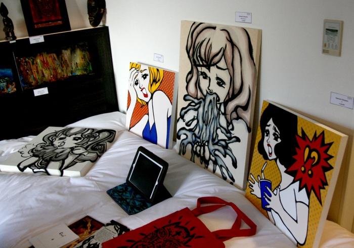 art osaka 2013 - fuman art booth c