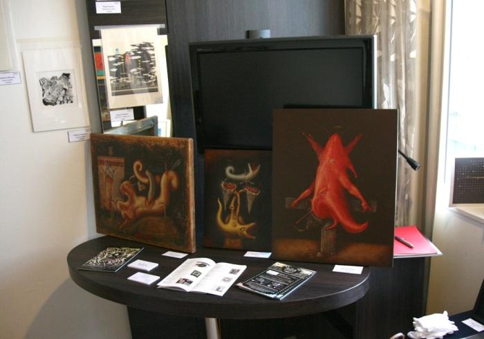 art osaka 2013 - fuman art booth f
