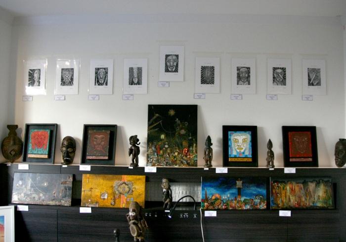 art osaka 2013 - fuman art booth g
