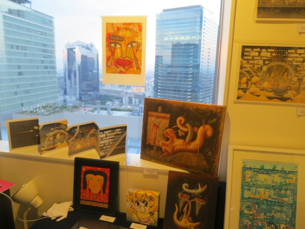 art osaka 2013 - fuman art booth h