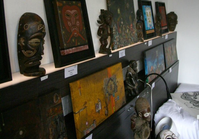art osaka 2013 - fuman art booth l