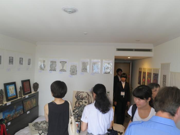 art osaka 2013 - fuman art booth n