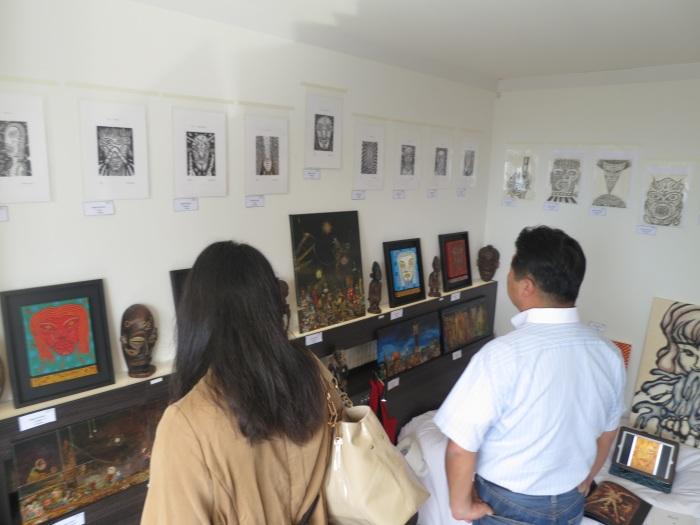 art osaka 2013 - fuman art booth o