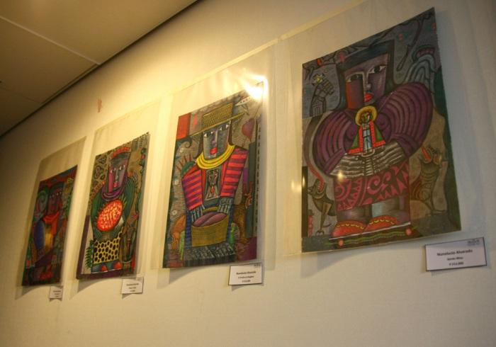 art osaka 2013 - fuman art booth p