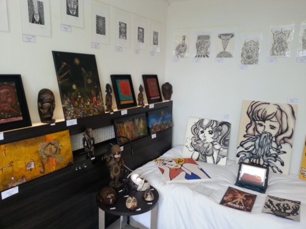 art osaka 2013 - fuman art booth