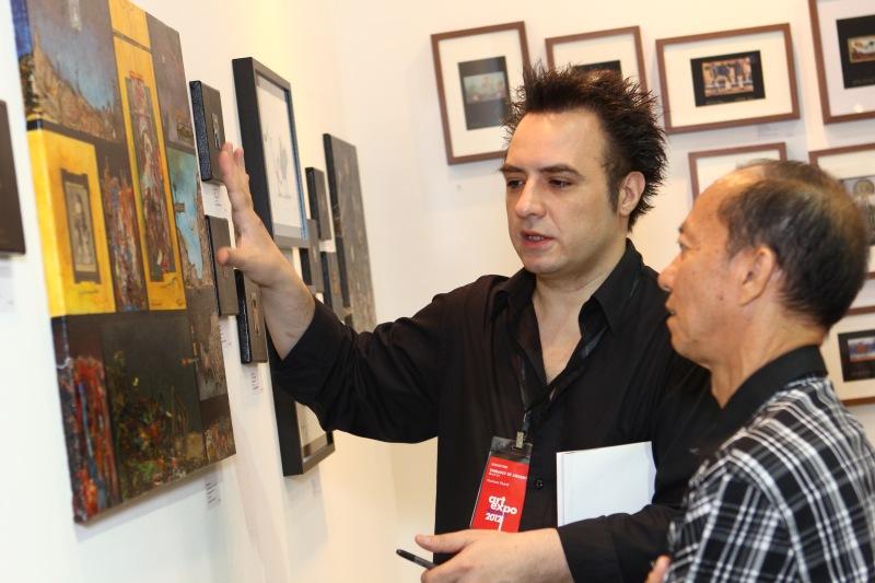 Art Expo 2012 - Fuman Art - Argentina Embassy - Gustavo Charif