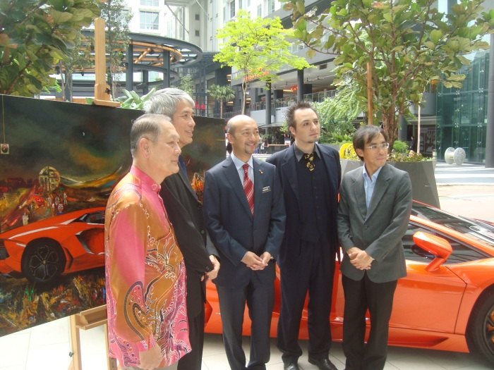 Gustavo Charif - Lamborghini project - October 2012 - Kuala Lumpur 2